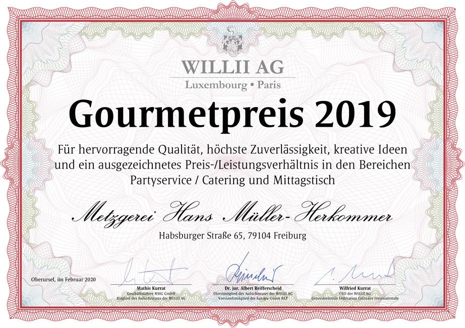 Bild: Gourmetpreis 2019